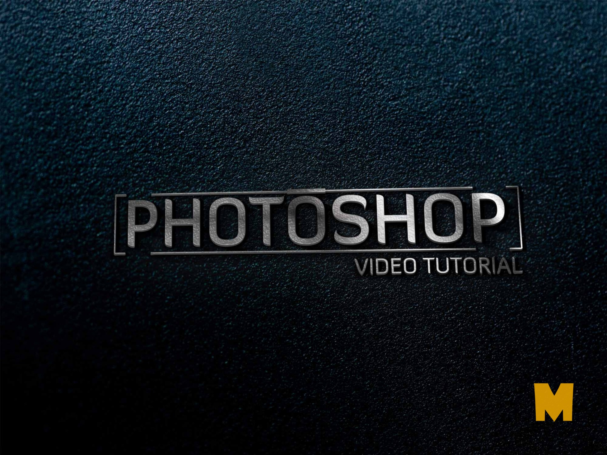 Top Wall logo-mockup- photoshopvideotutorial