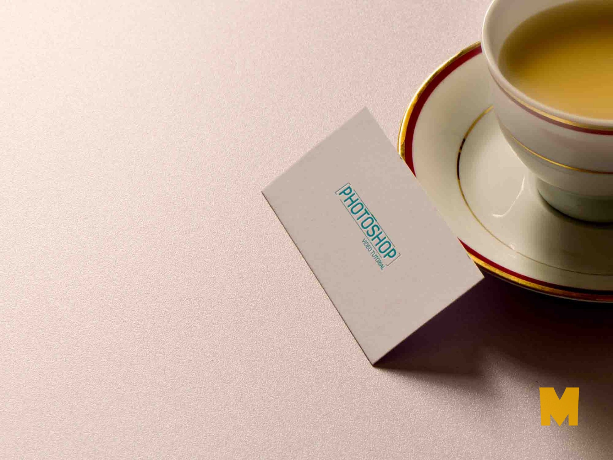 business card paper-logo-mockup
