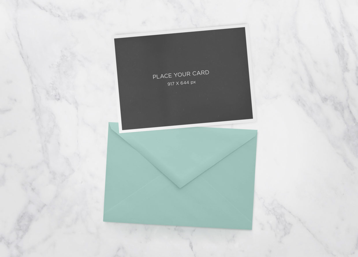 Free Greeting Cards MockUp