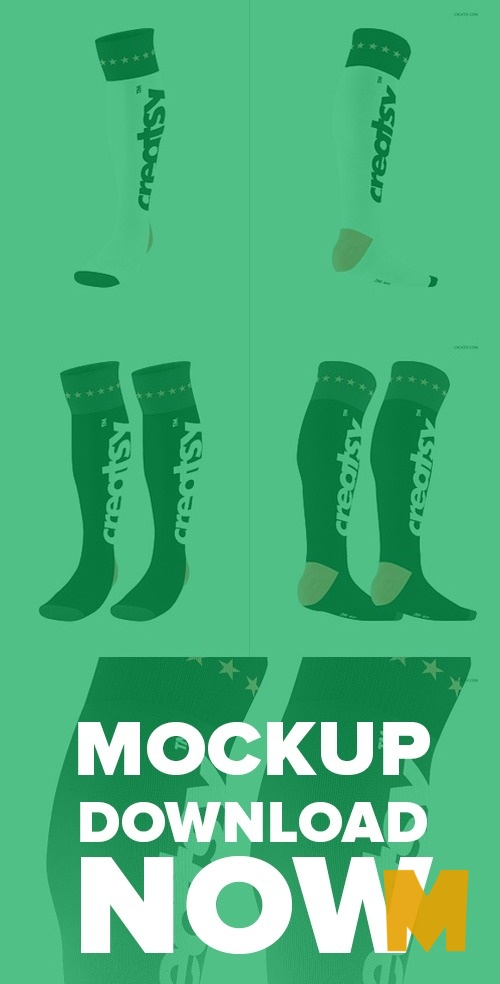 Shoes Socks Mockup