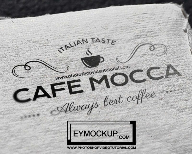 Paper Tag Awesome Mockups
