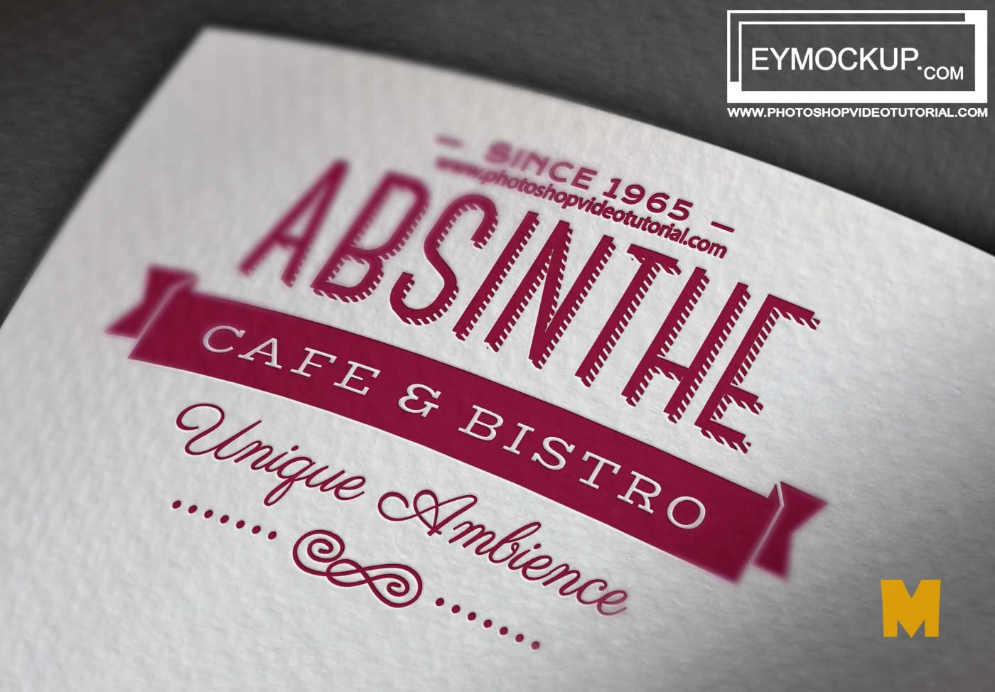 Awesome Logo Mockup Template