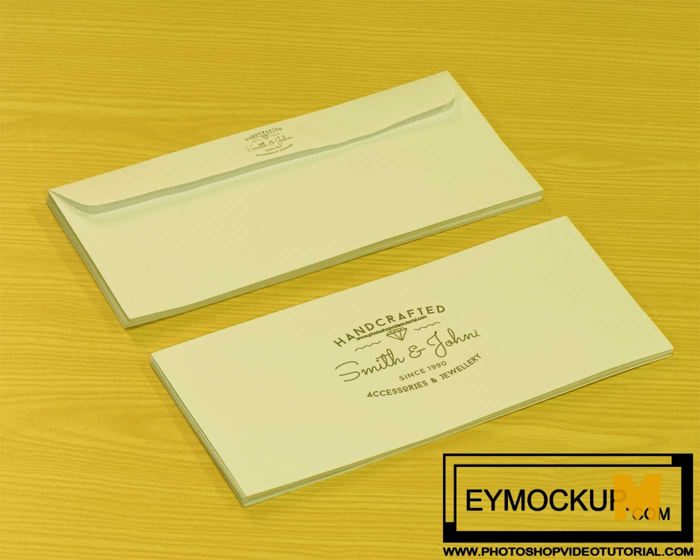 Free Realistic Post Card Mockups