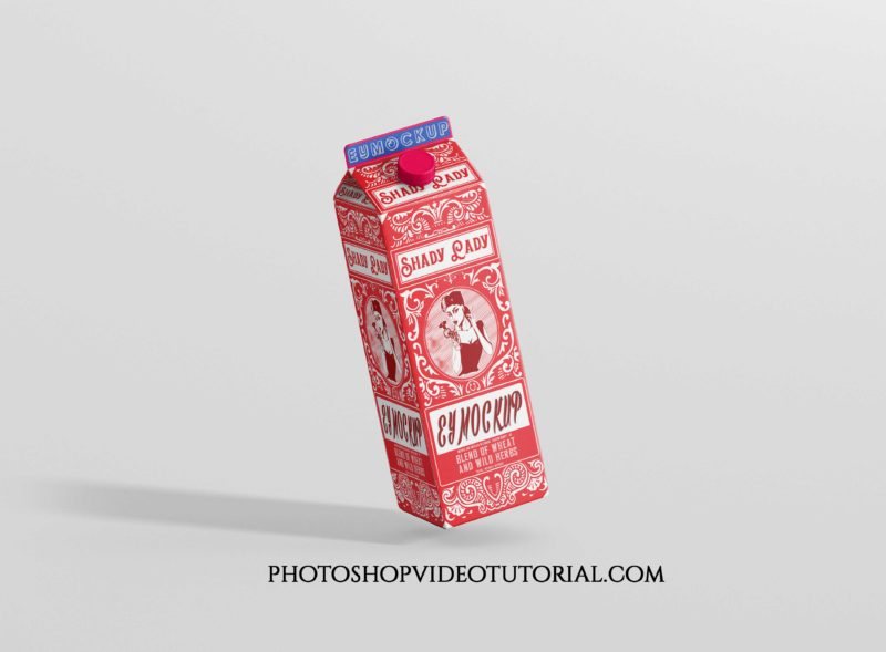 Milk Package Mockups