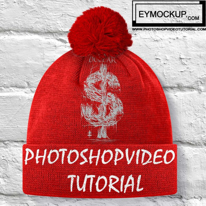 free cotton cap mockup