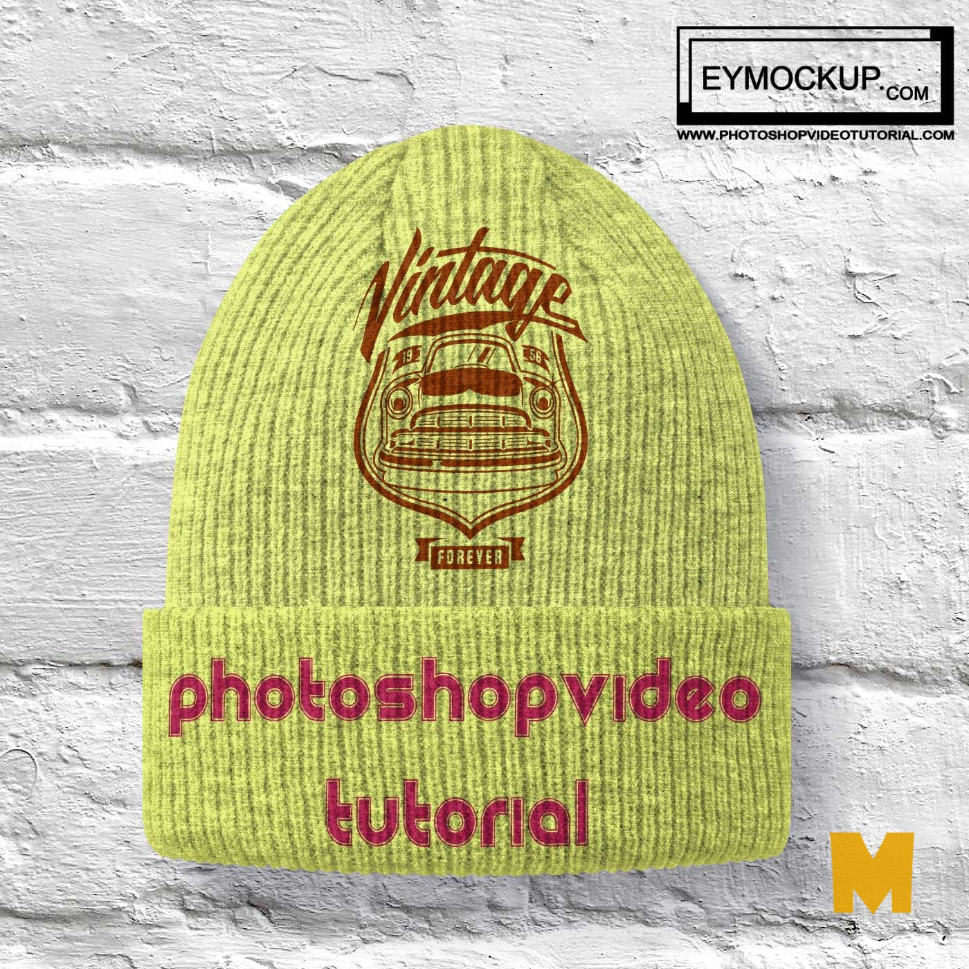 Cotton Cap Mockups
