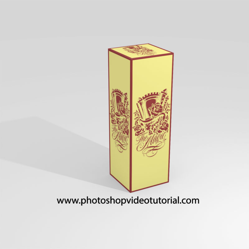 Best psd Box Label Mockup