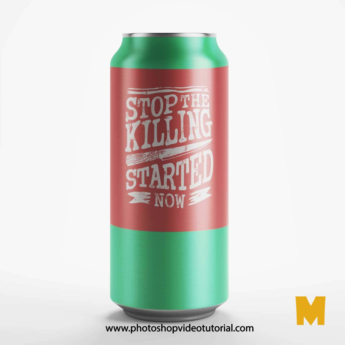 Beer Can Mockups