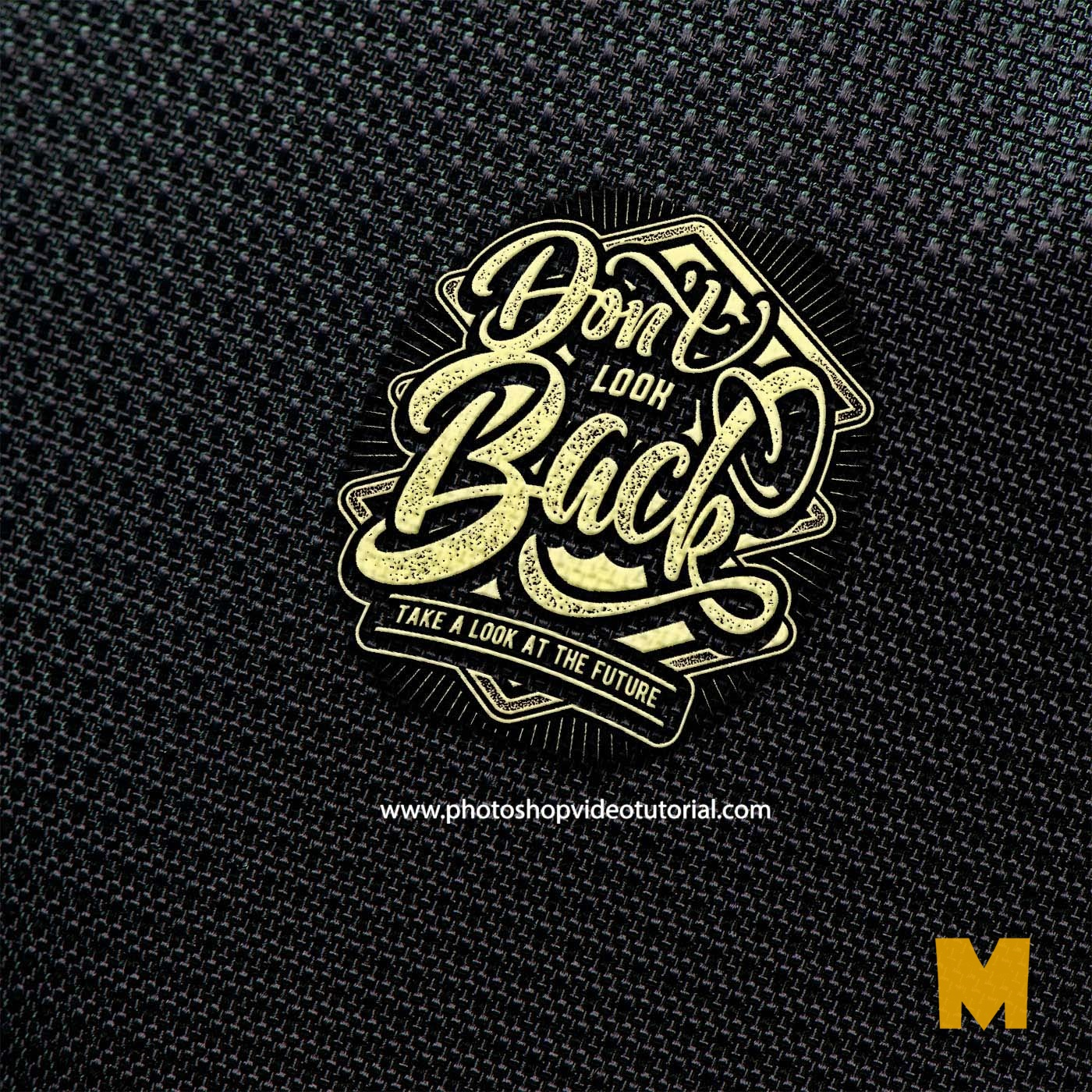 T-shirt Fabric Logo Mockups