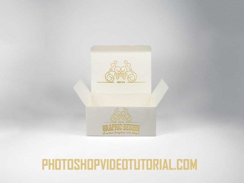free Gold Label Mockup