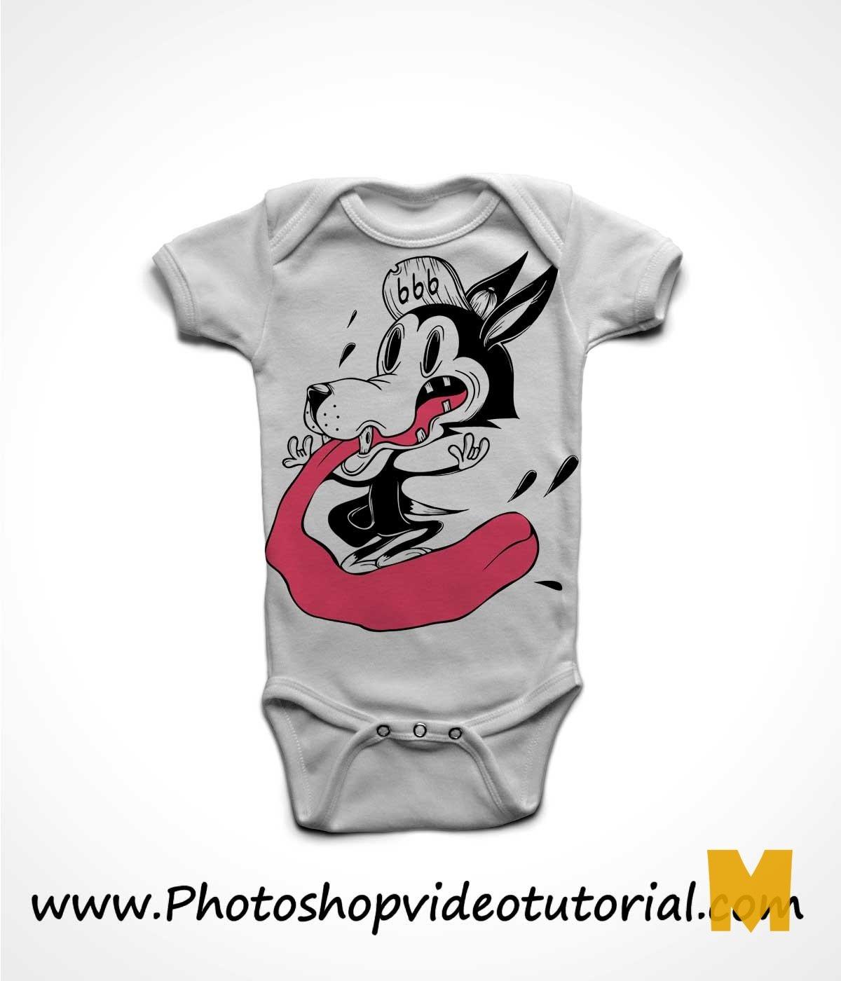 Baby Tshirt Mockup