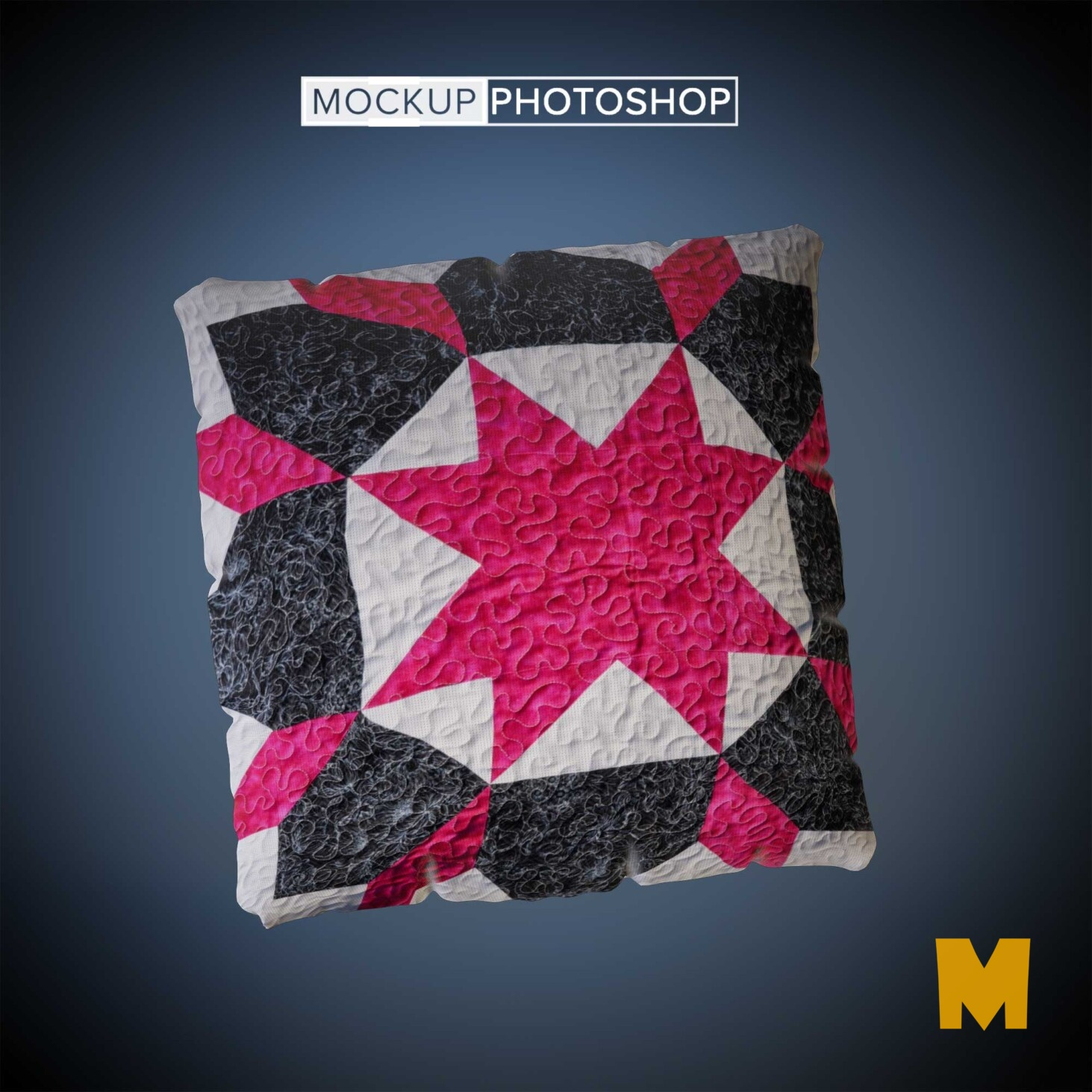 Colorful Pillows Mockup