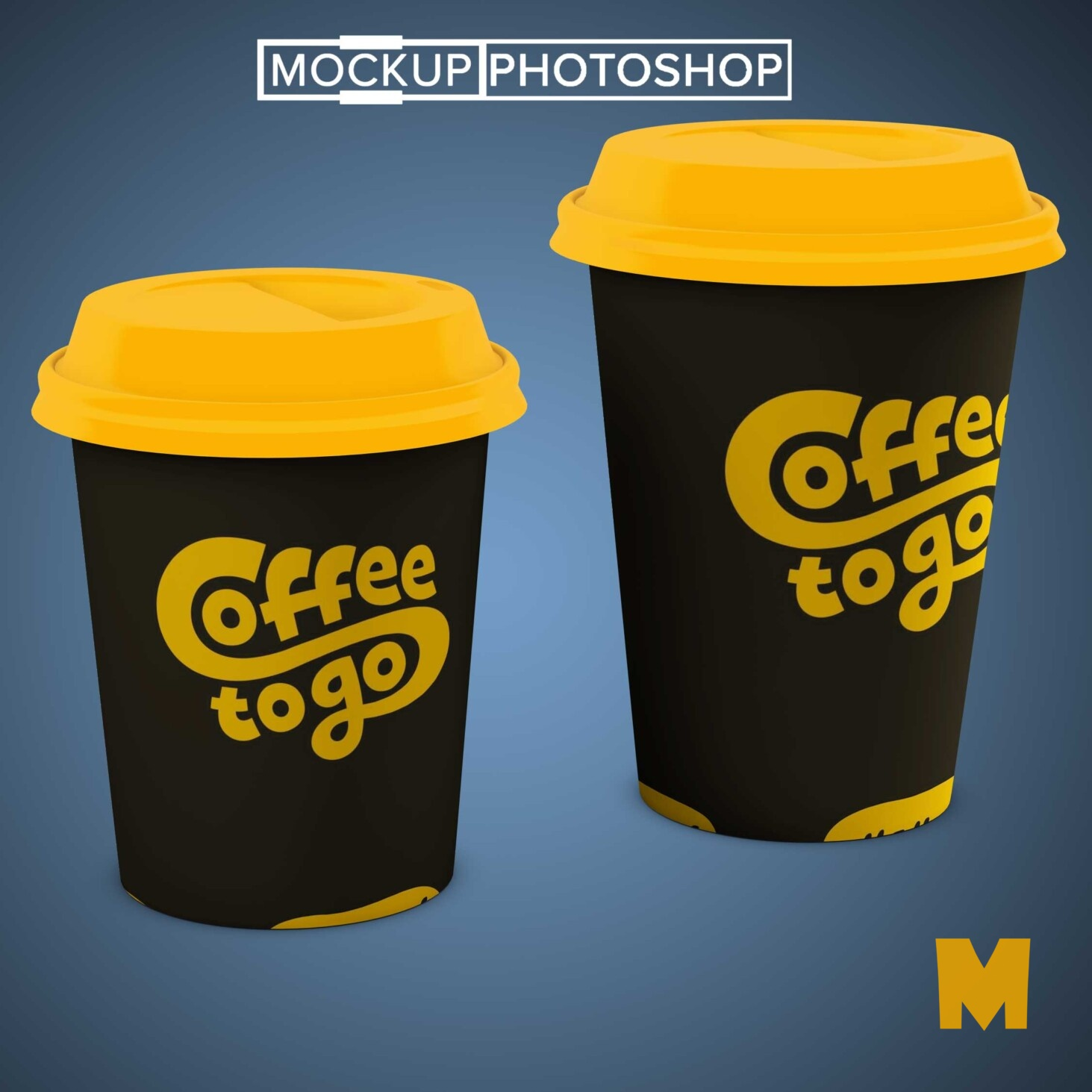 Cool Coffee Cup Free Mockup
