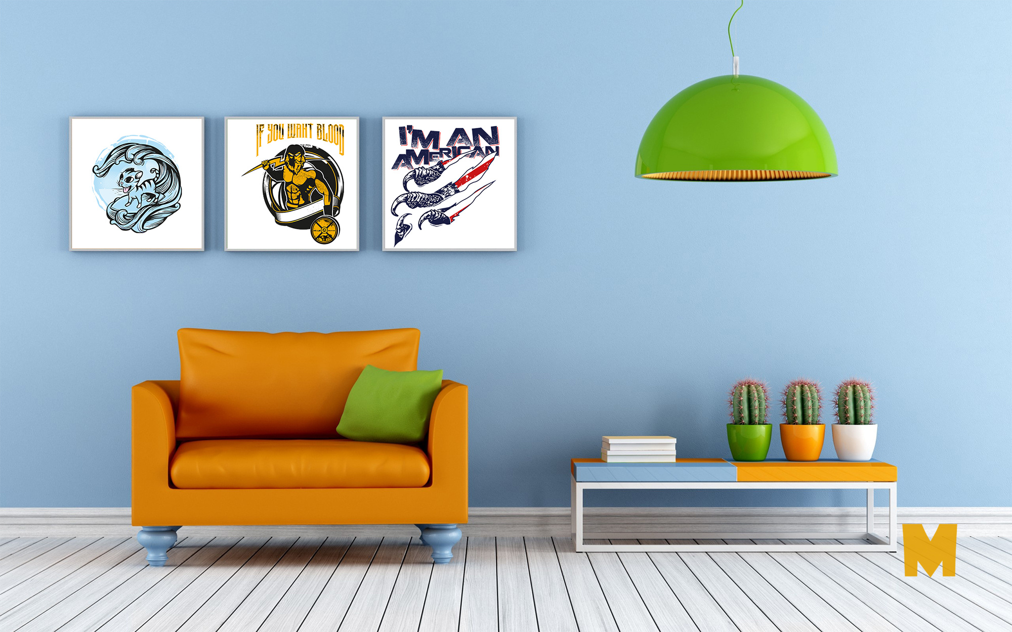 Room Posters Mockups