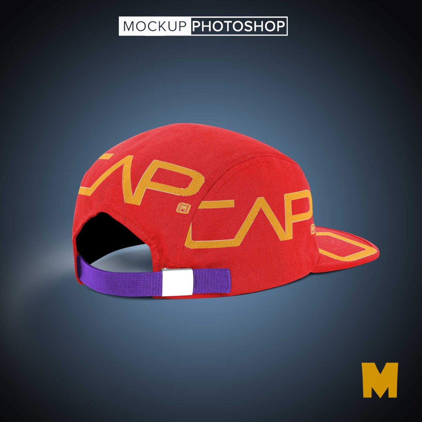 Latest Cap Back Mockup