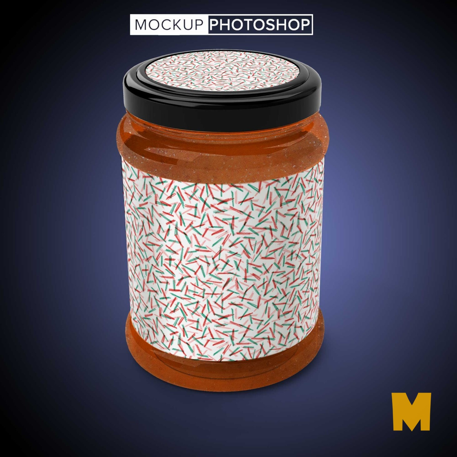 Latest Jar Bottle Mockup