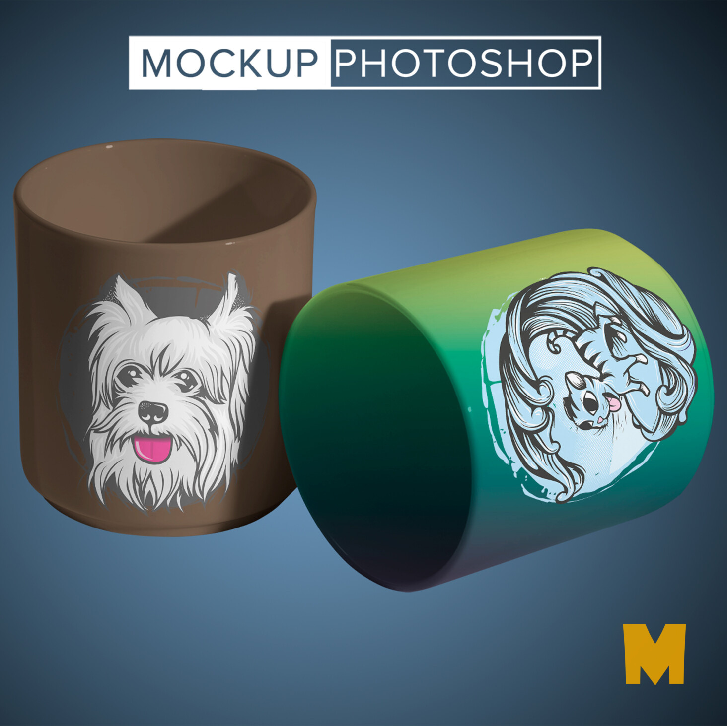 New Hot Coffee Cup Mockups