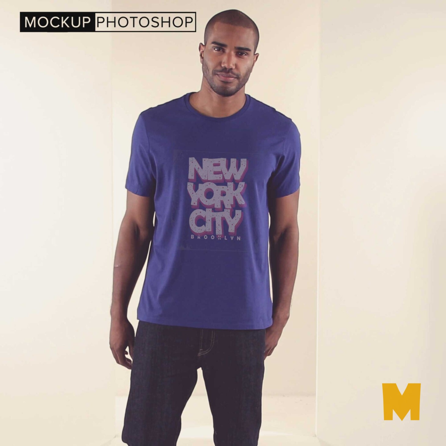 New Mens Tshirts Mockup