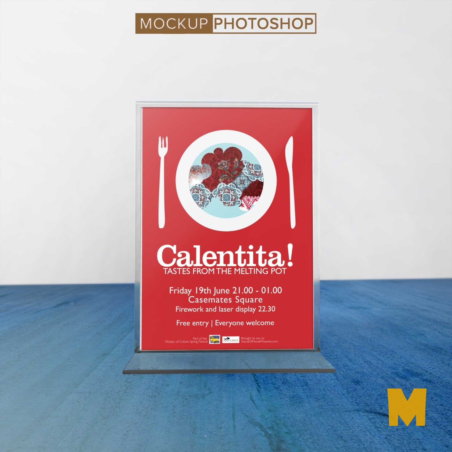 Poster Table Mockups
