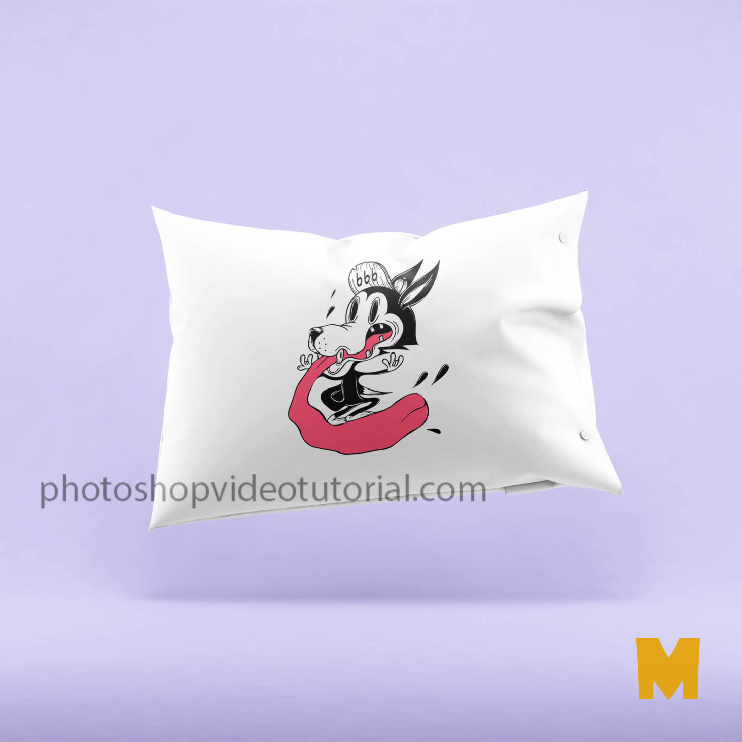Prime Pillow Mockups psd