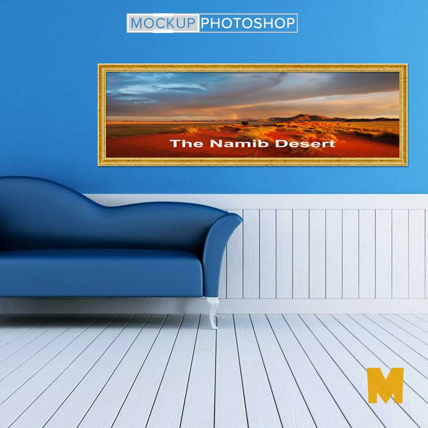 Room Wall Frame Mockups
