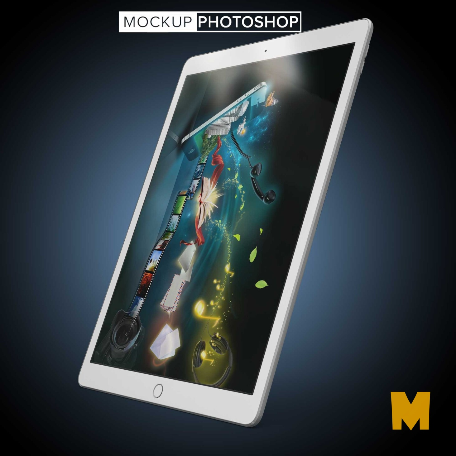 Tablet Design Mockups
