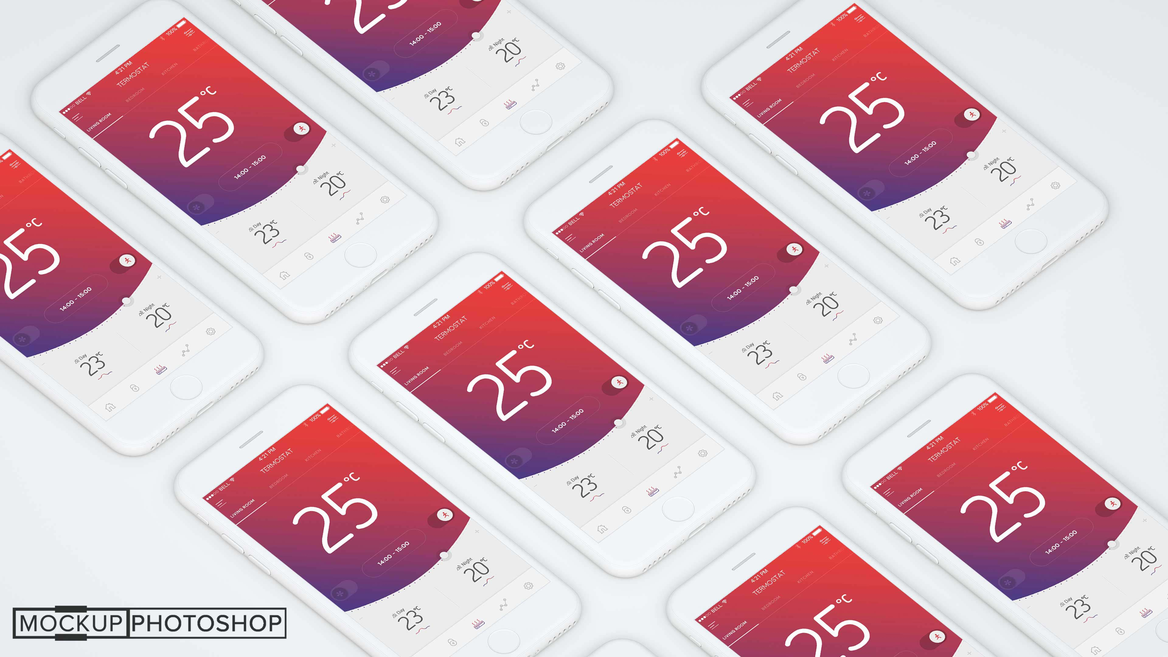 Awesome iPhone Mockup