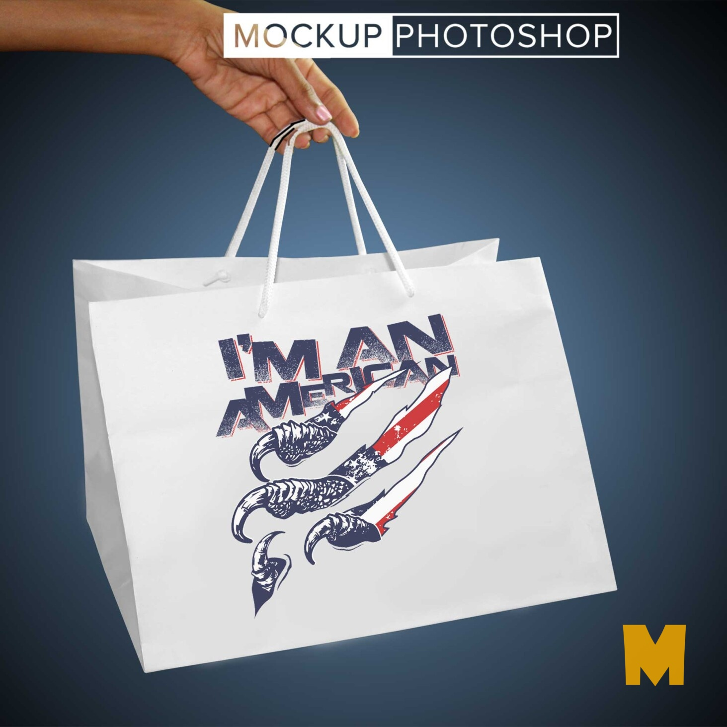 Printed Shopping Bag Mockups