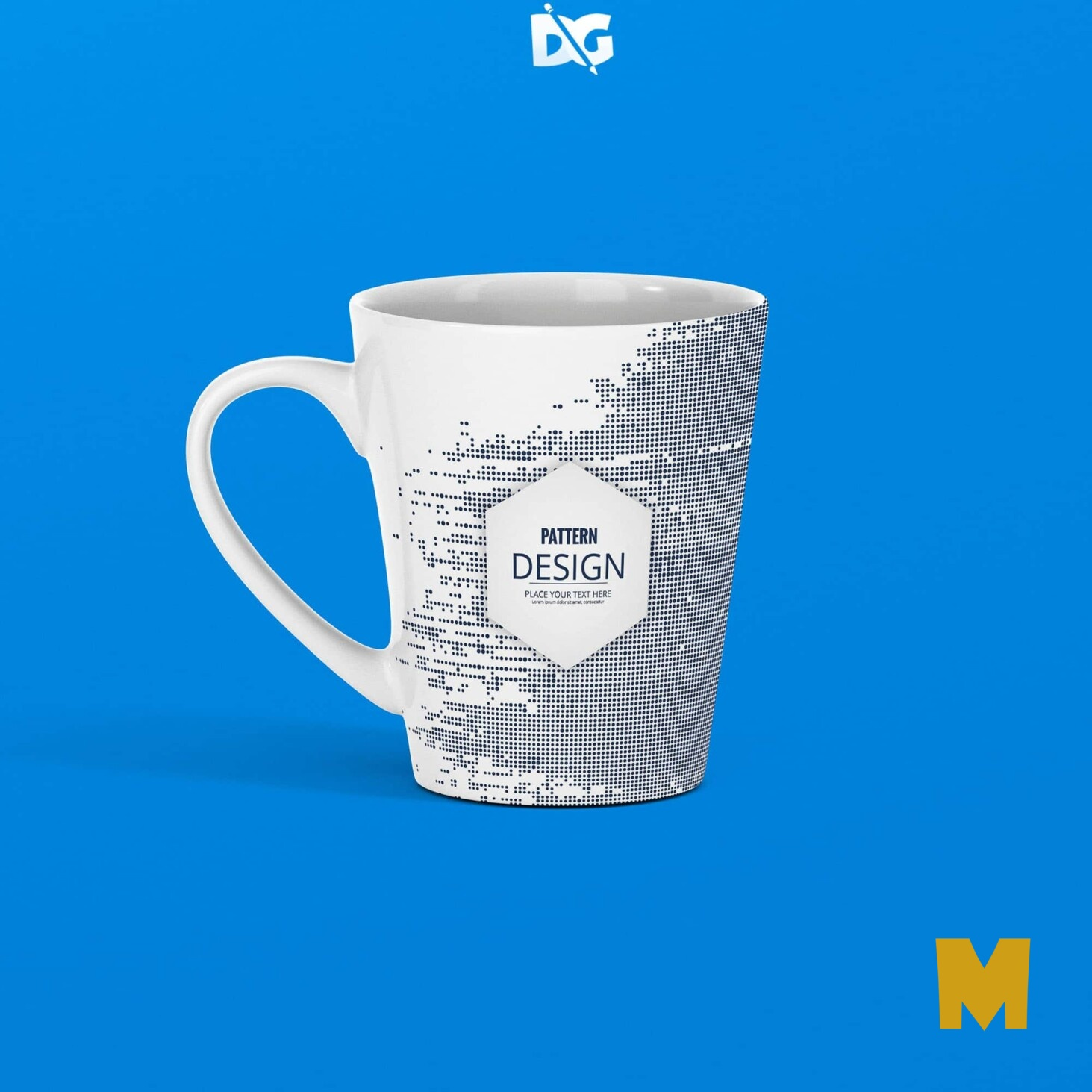 Coffee Mug Label Mockup