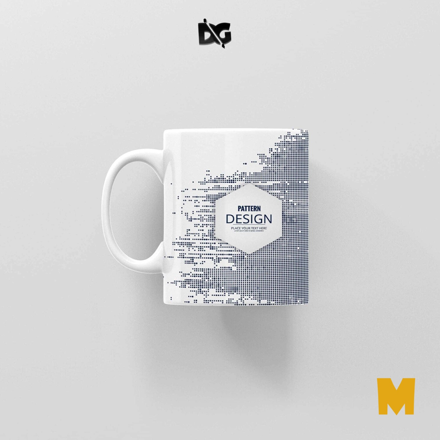 Travel Mug Label Mockup