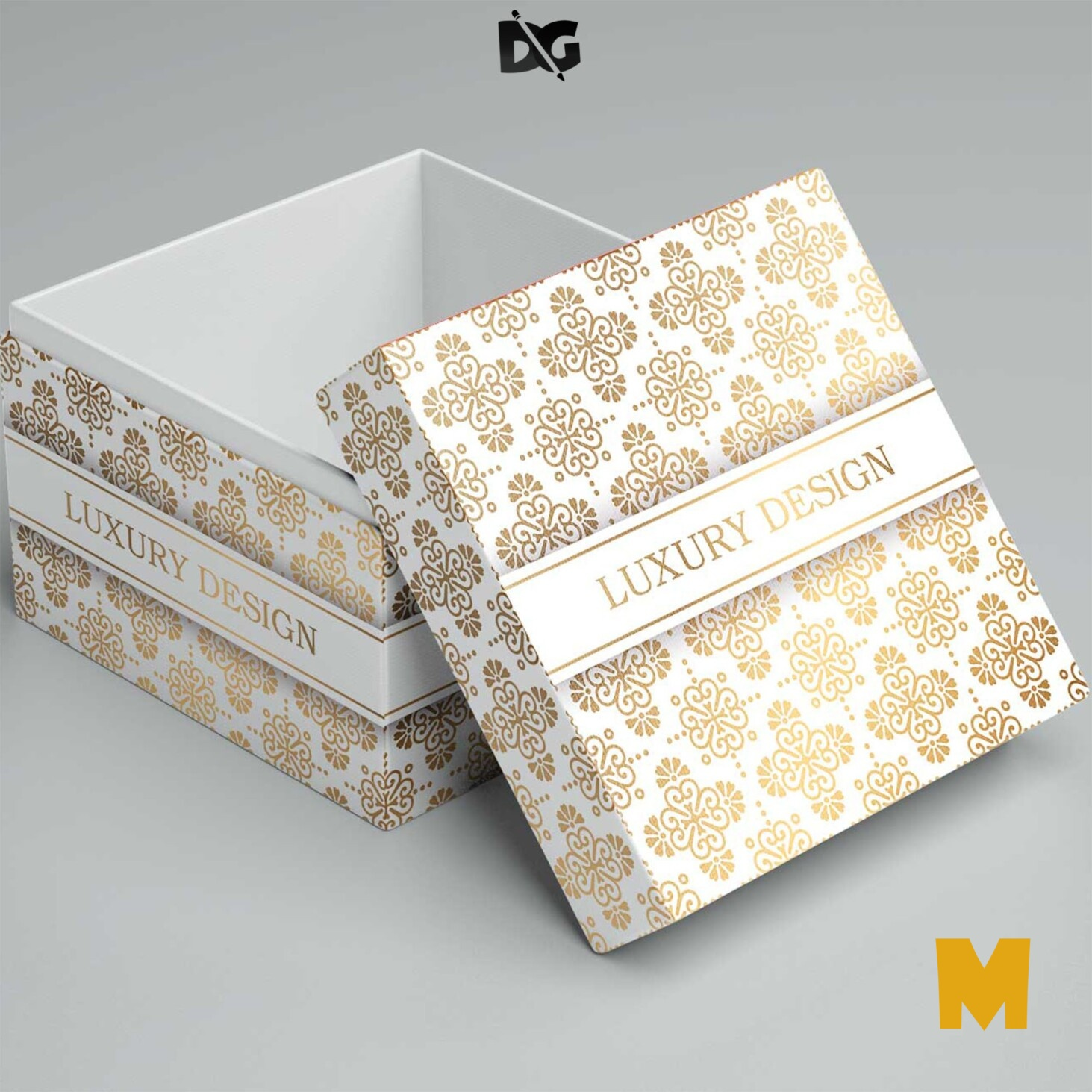 Box Label Mockups