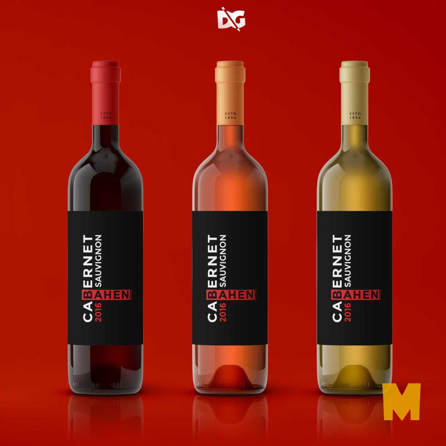 Label Design Mockups