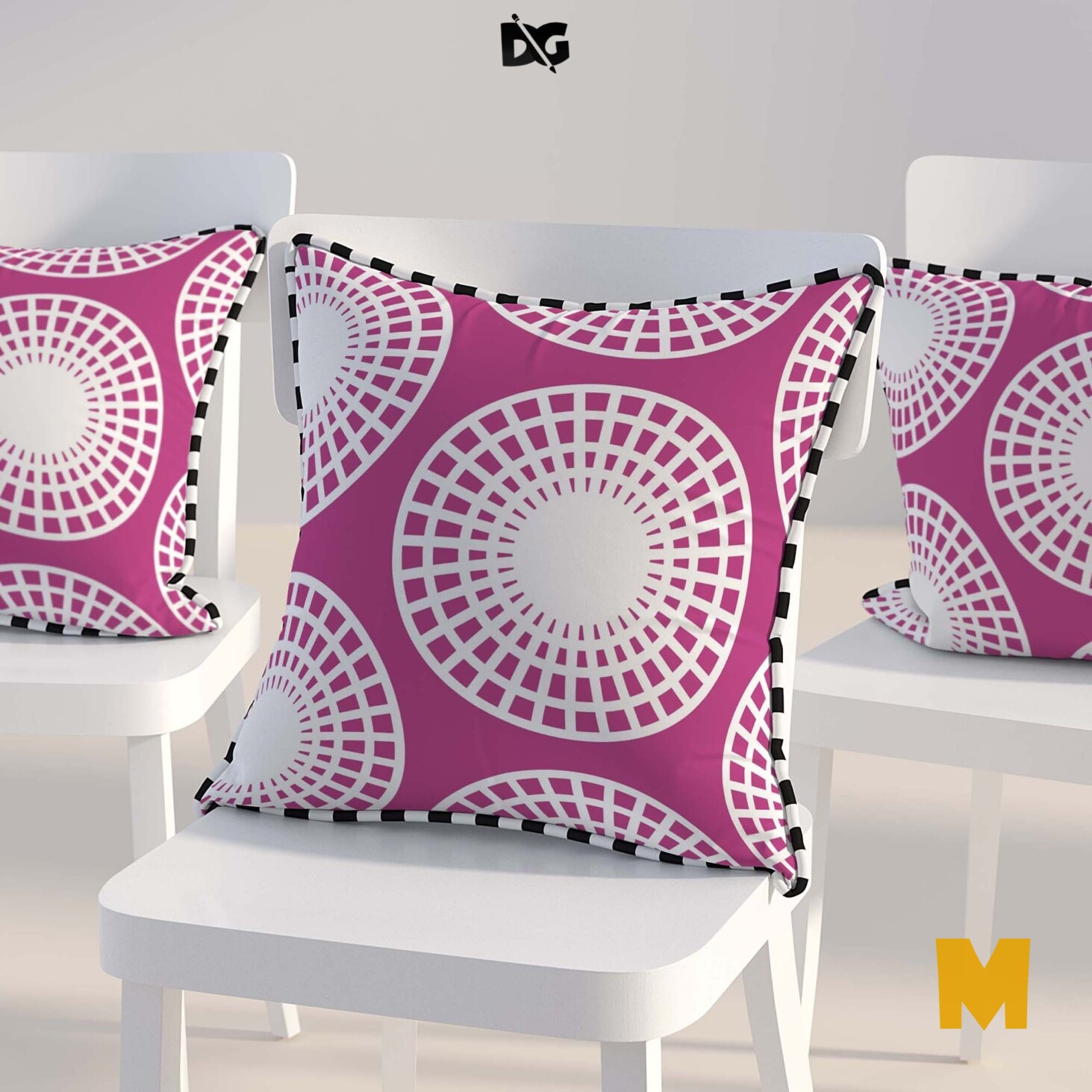 Pillow Design Mockup