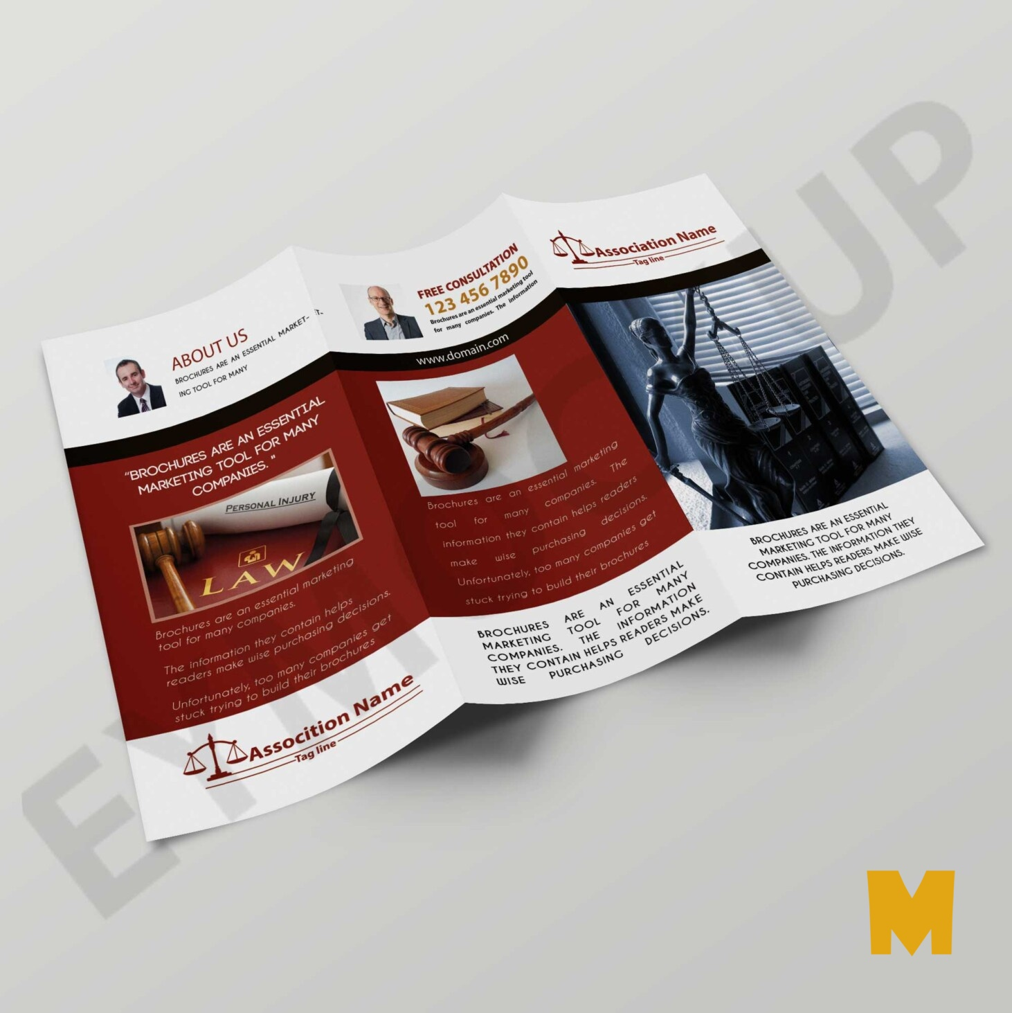 Law Form Tri-Fold Brochure