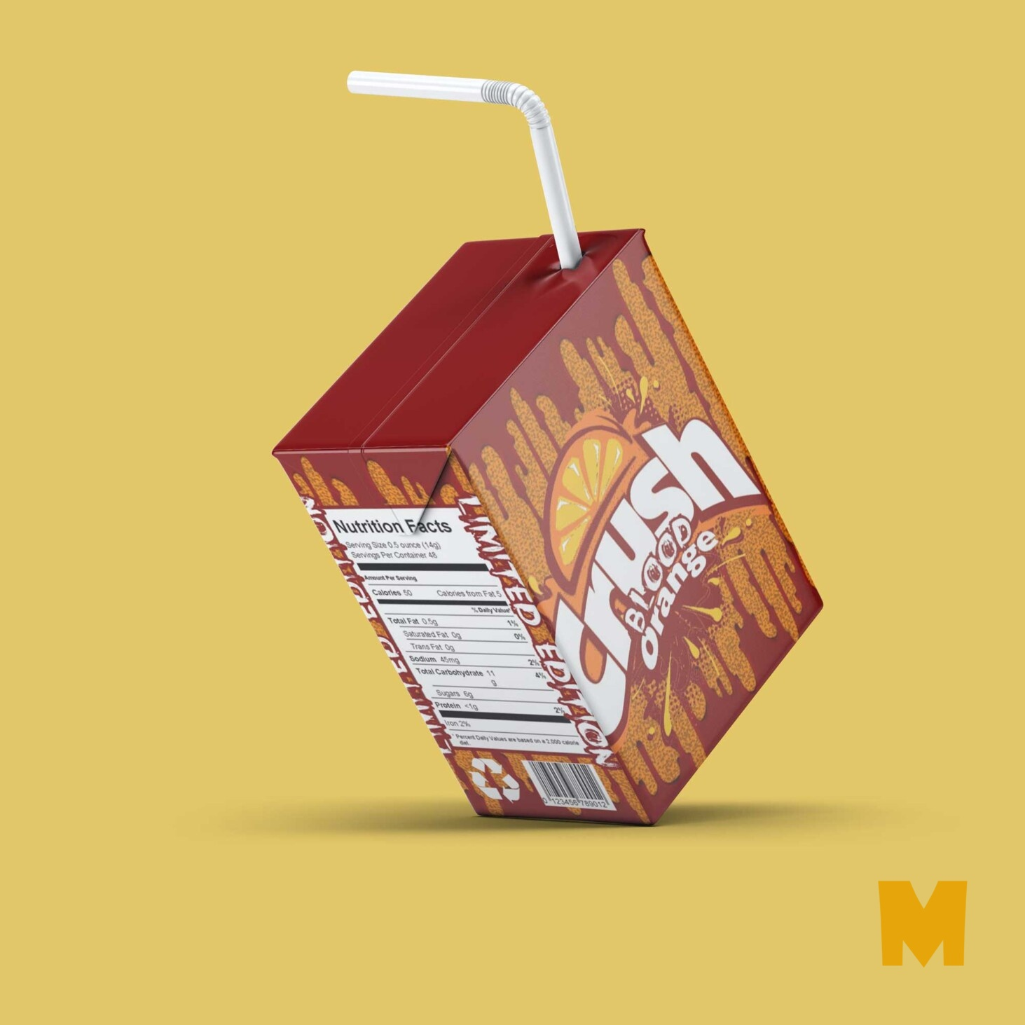 Juice Packaging Mockups
