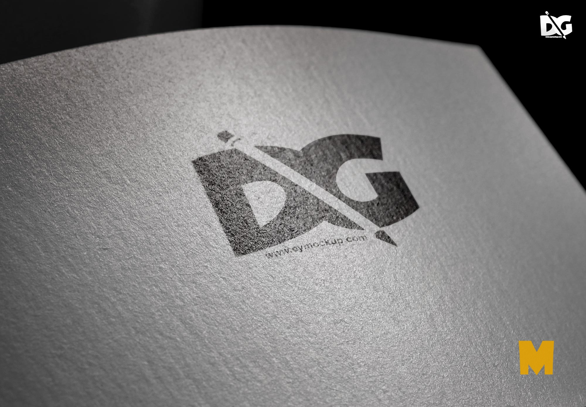 ePaper PSD Logo Mock-up