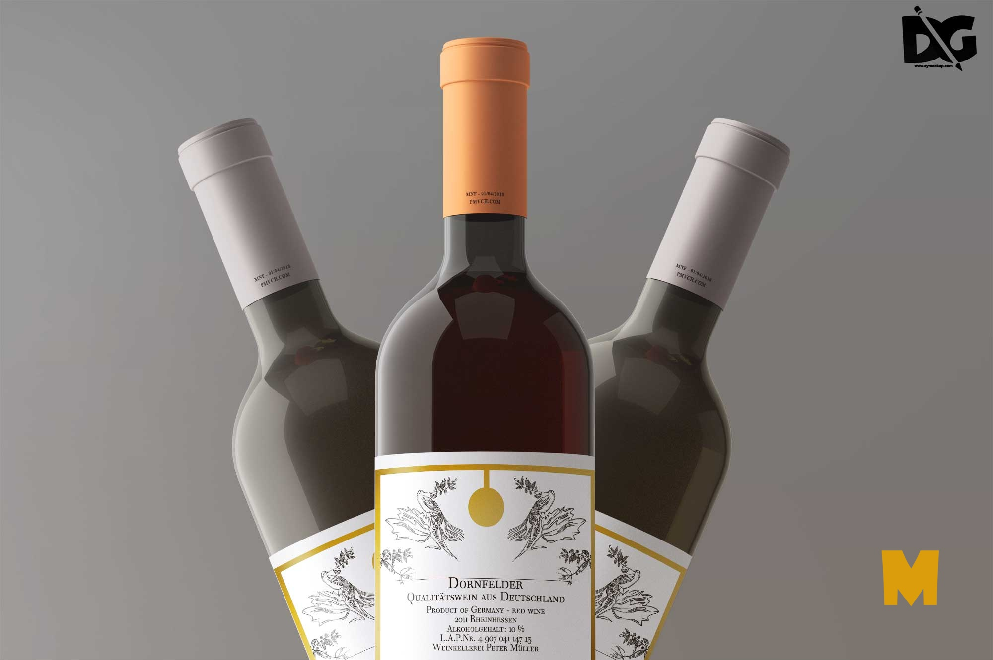 Bottle Label Mockups