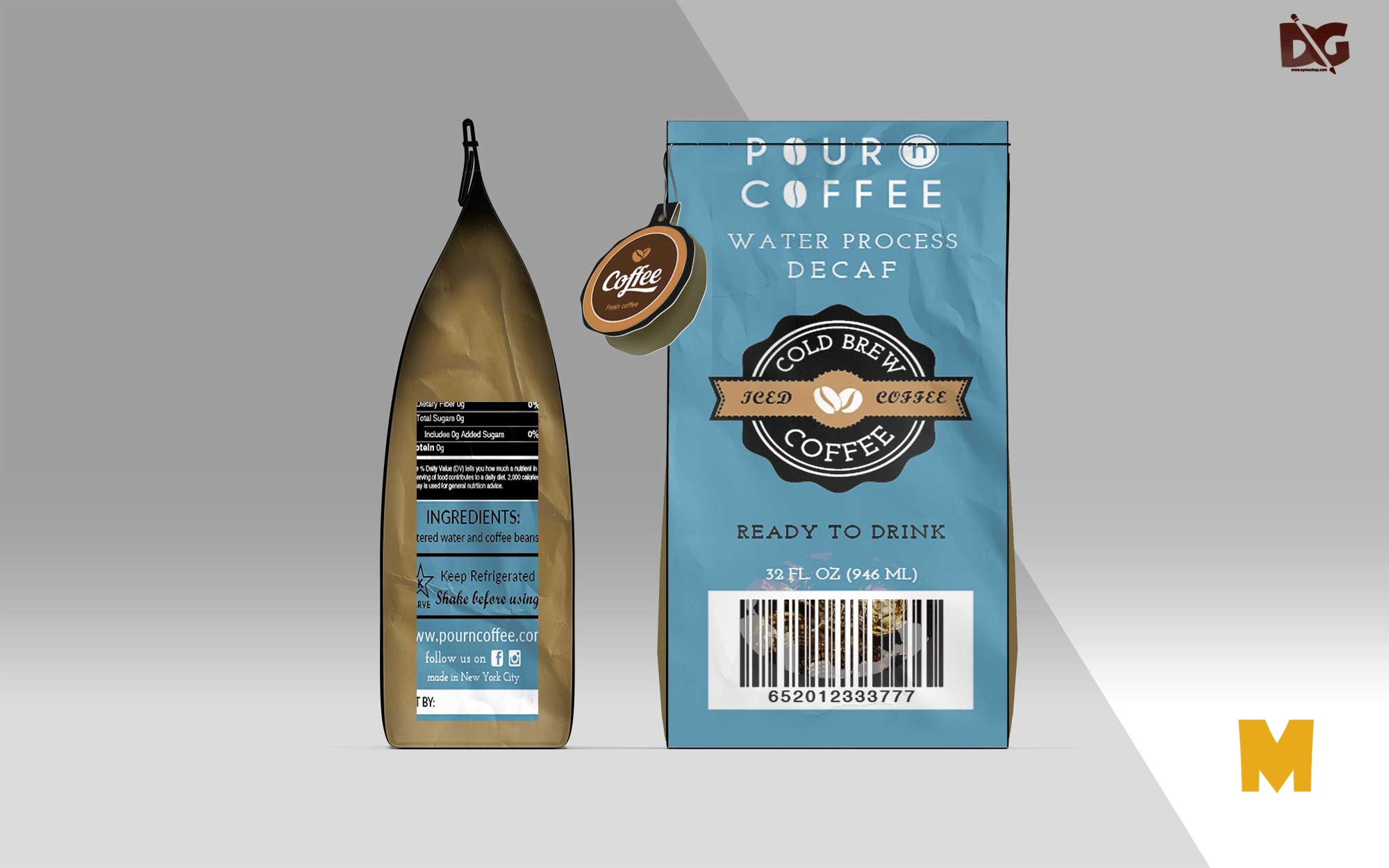Packaging Label Mockups