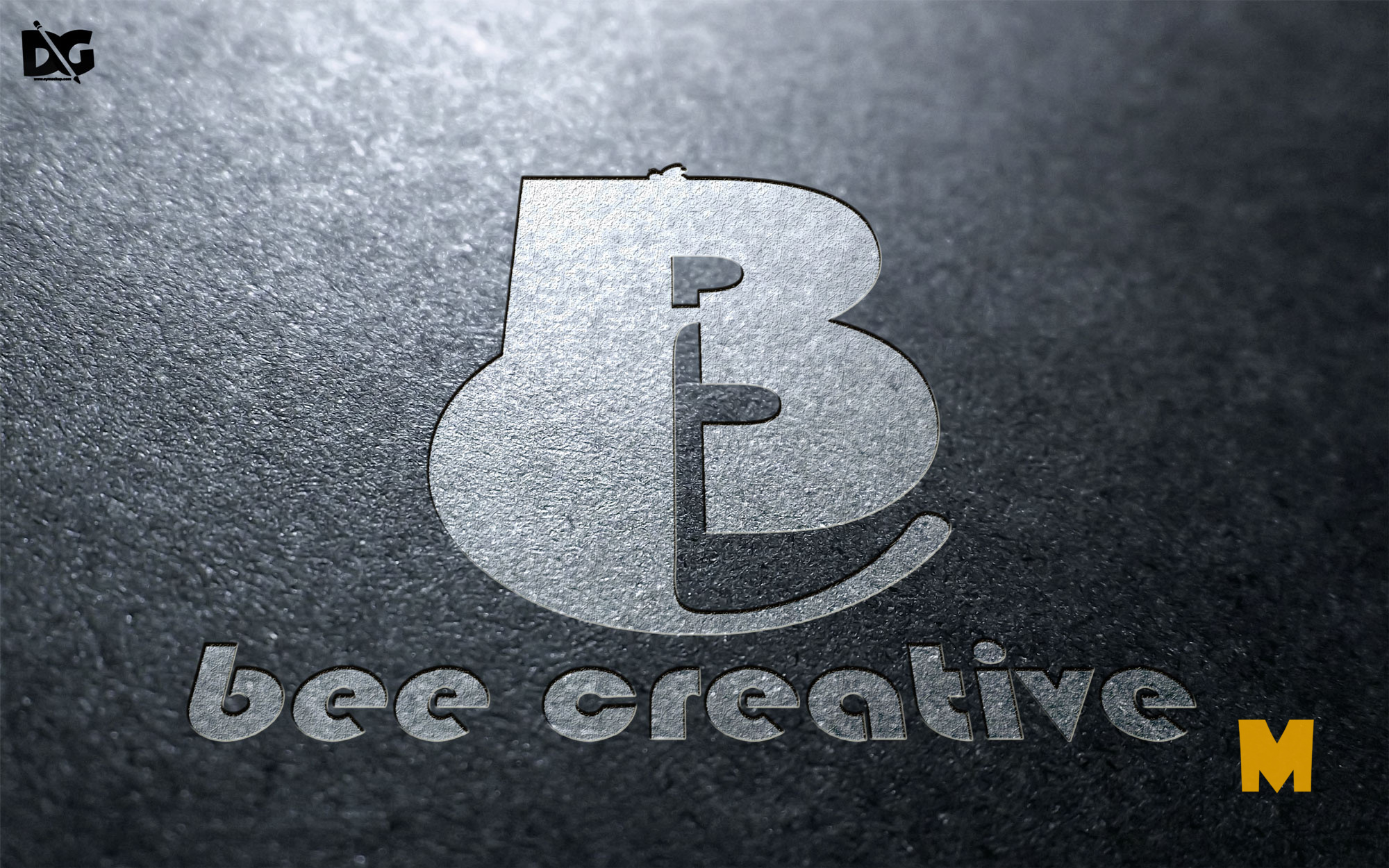 Road Effect Logo Mockup Collection