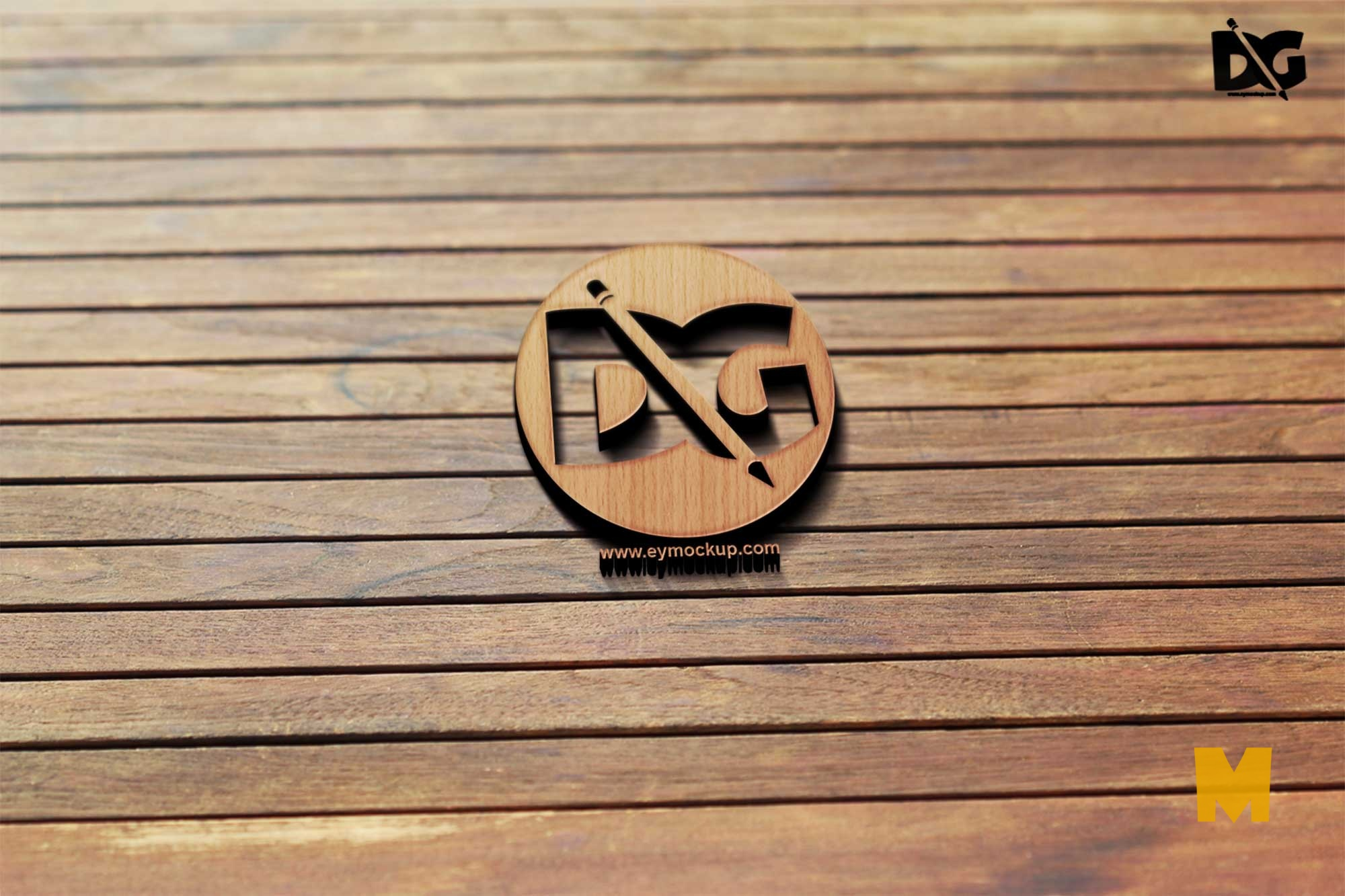 Pinned Logo Mockup