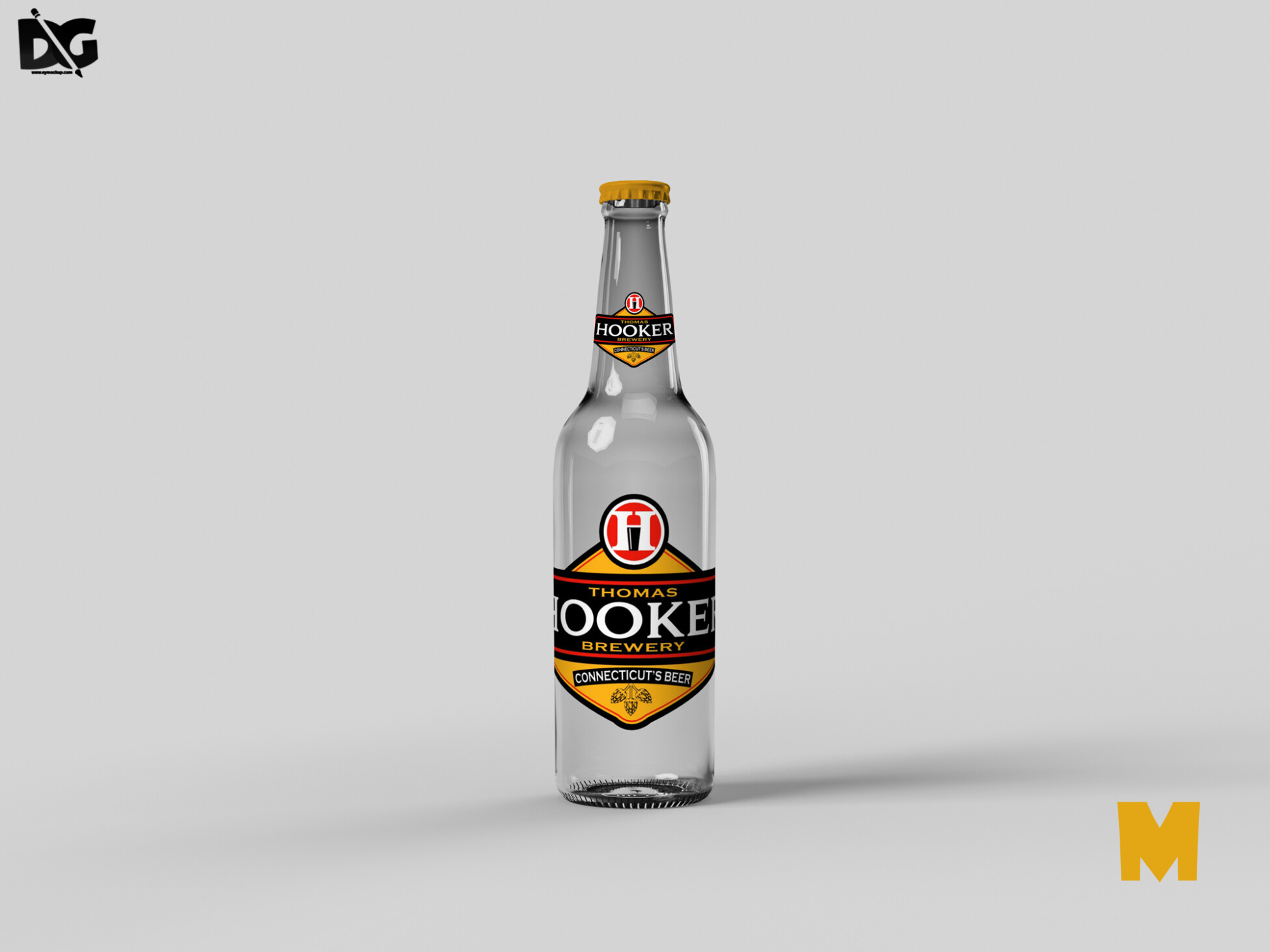Bottle Beer Mock-Up
