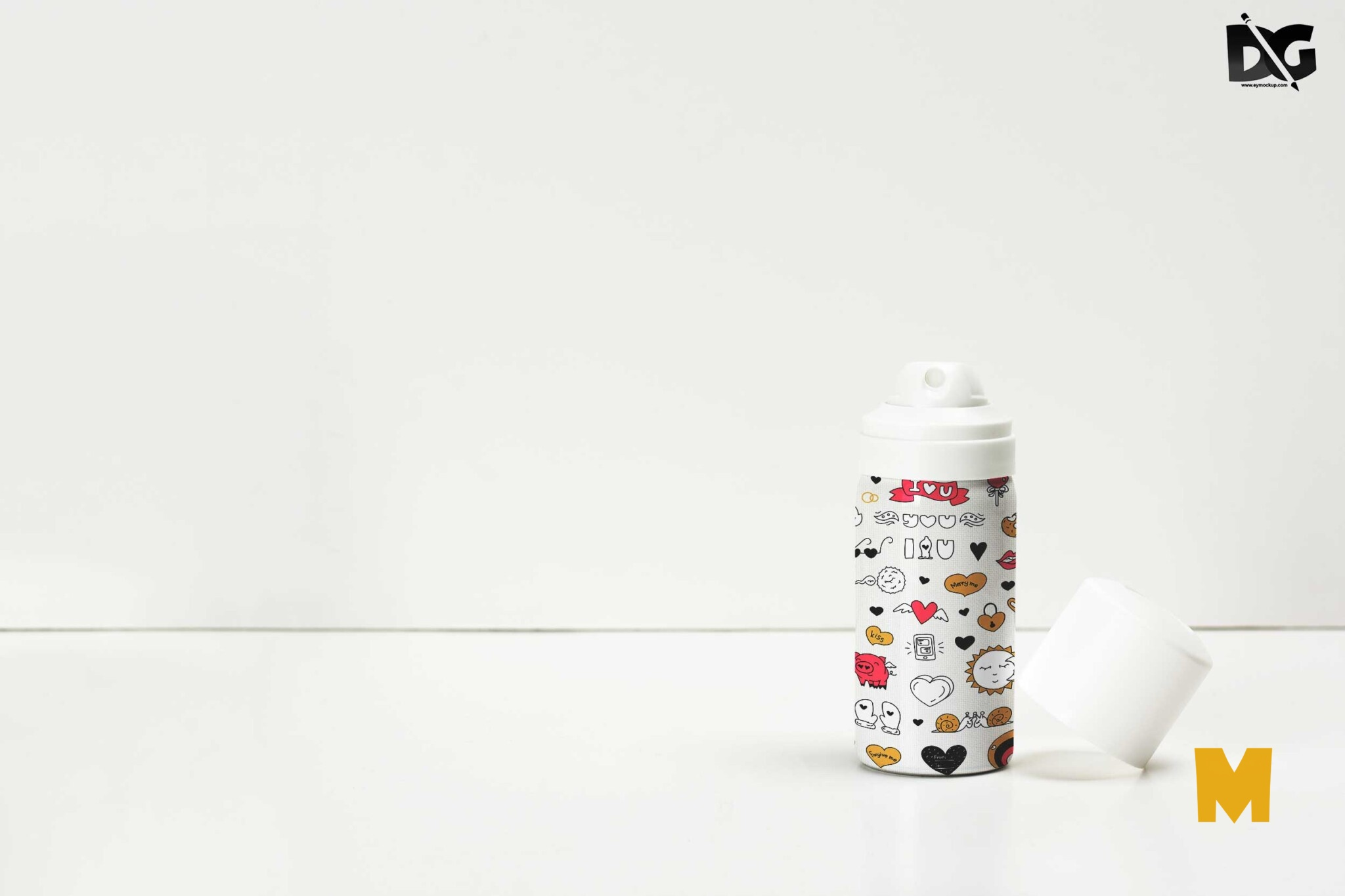 Spray PSD Mockup