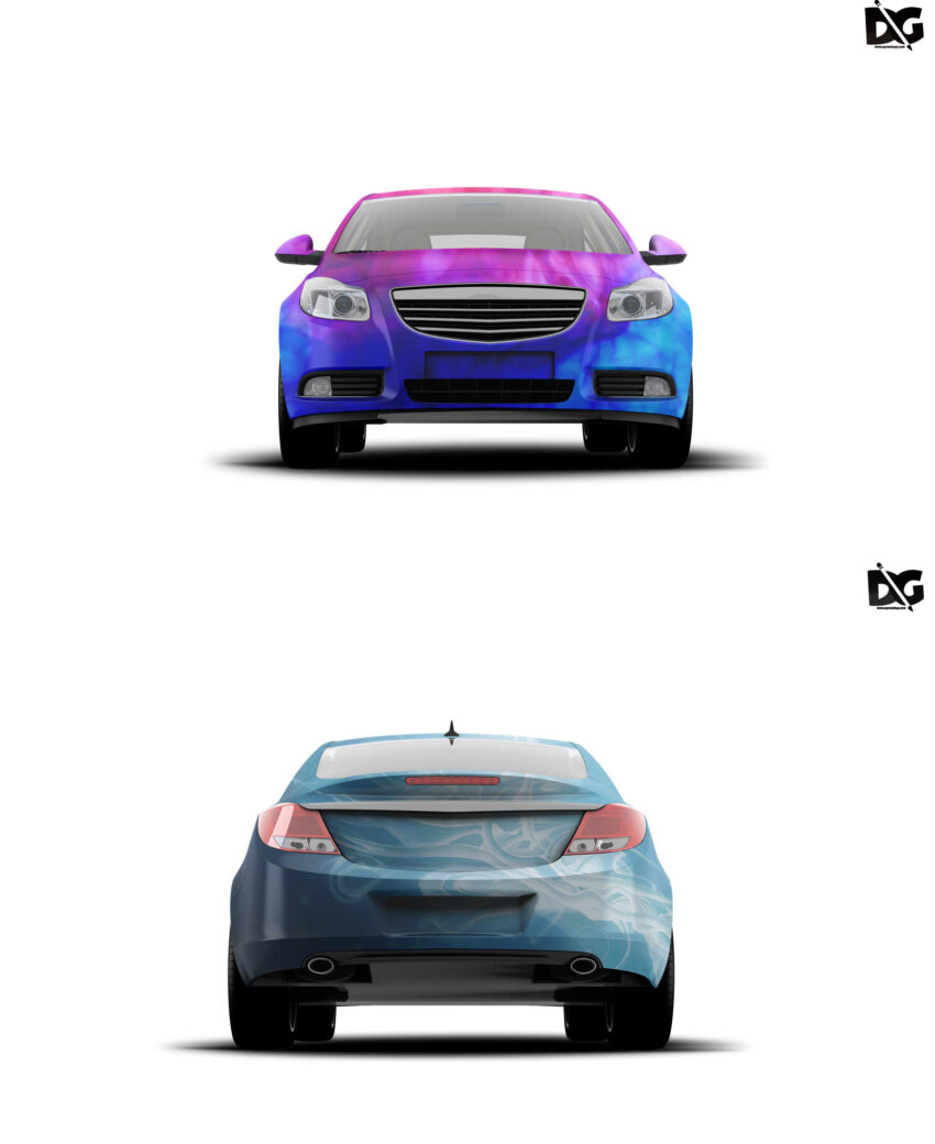 Mock-up Serdan Car