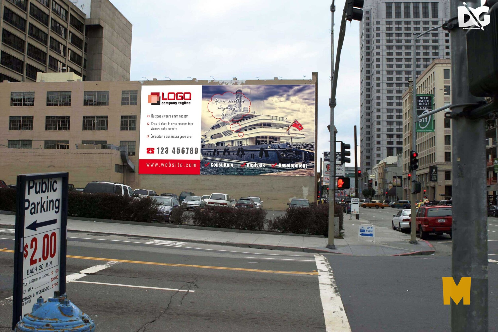 Street Billboard Design