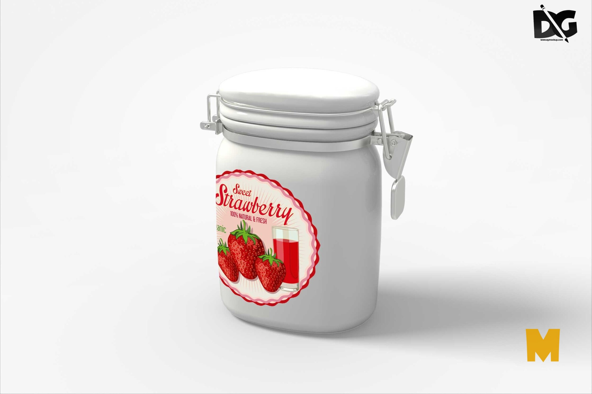 Packaging Label Mockup
