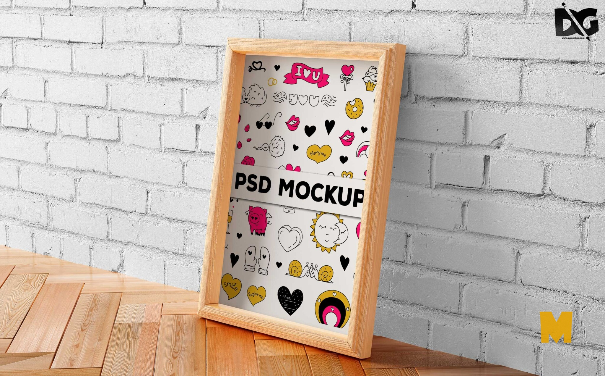 Artwork PSD Mockup