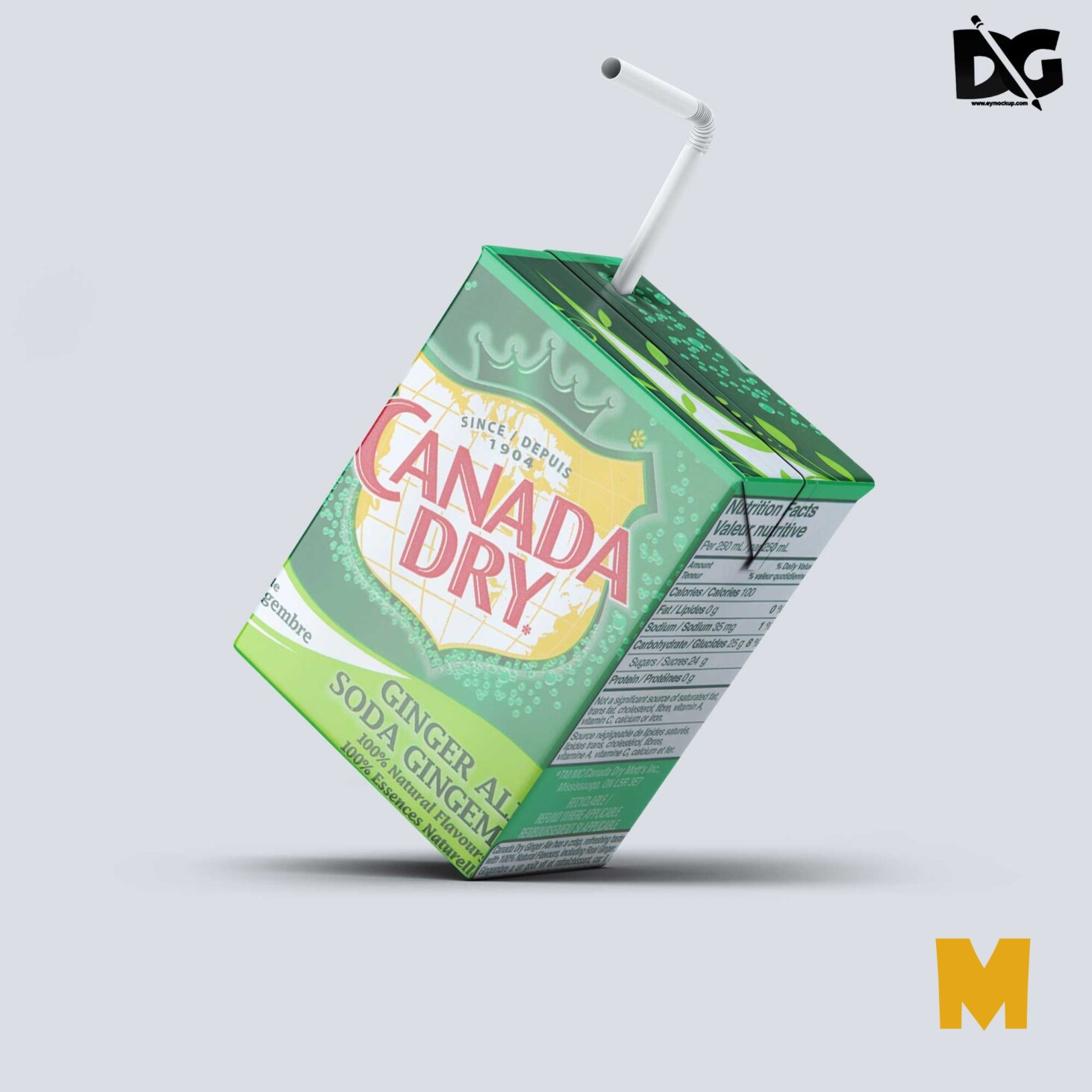 Juice Packaging Mockup