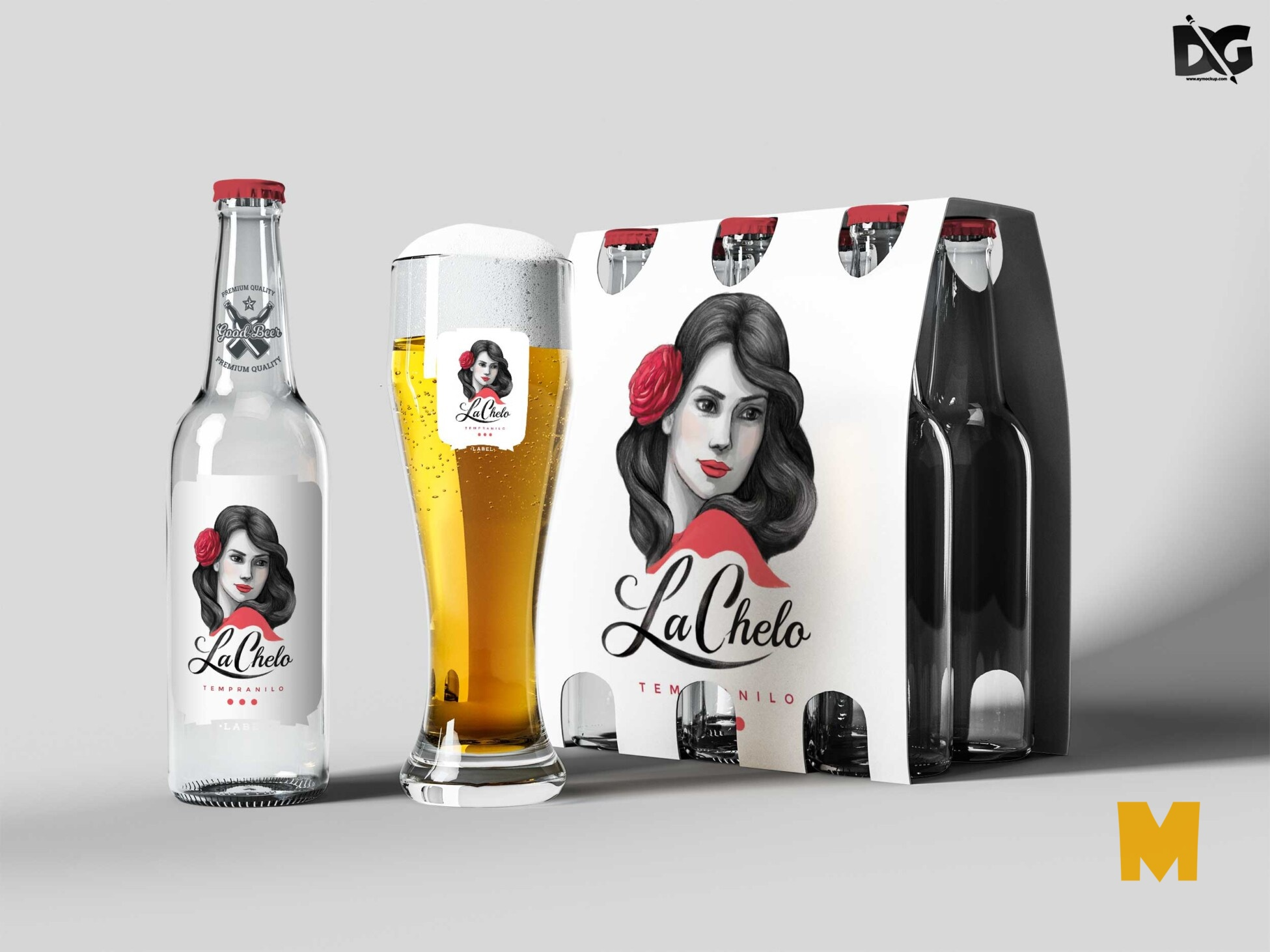 Beer Packaging Mockup