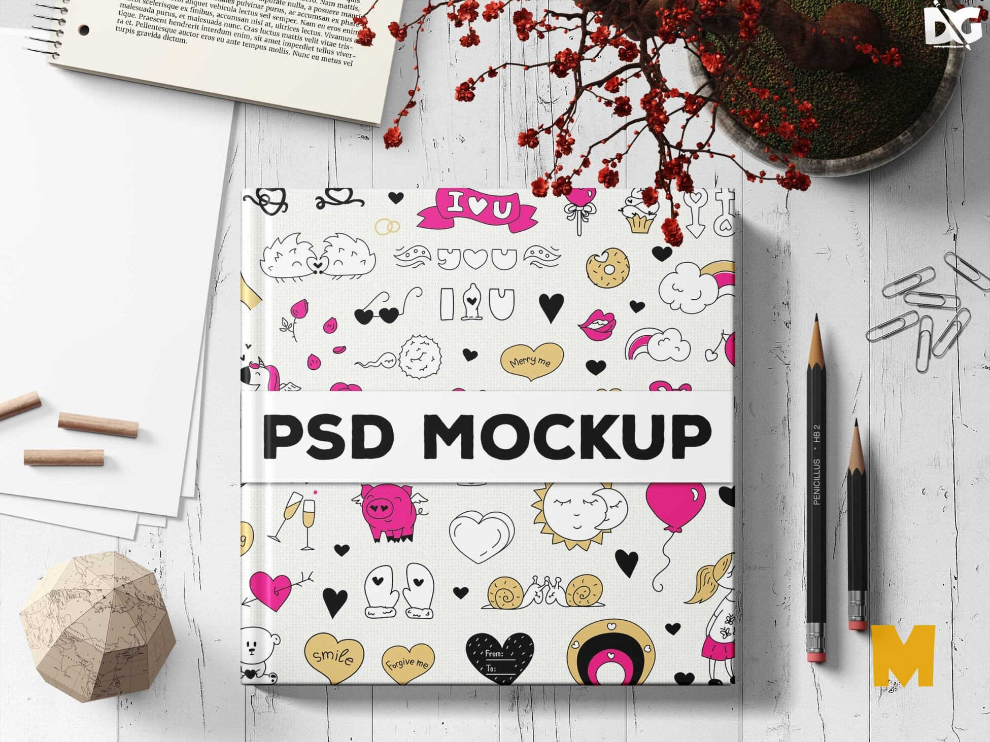 Colorful Design Mockup