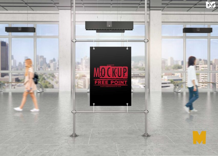 Advertising Billboard Mockup